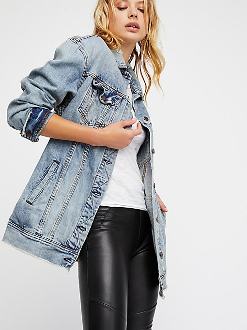 Product Image: Long Denim Jacket