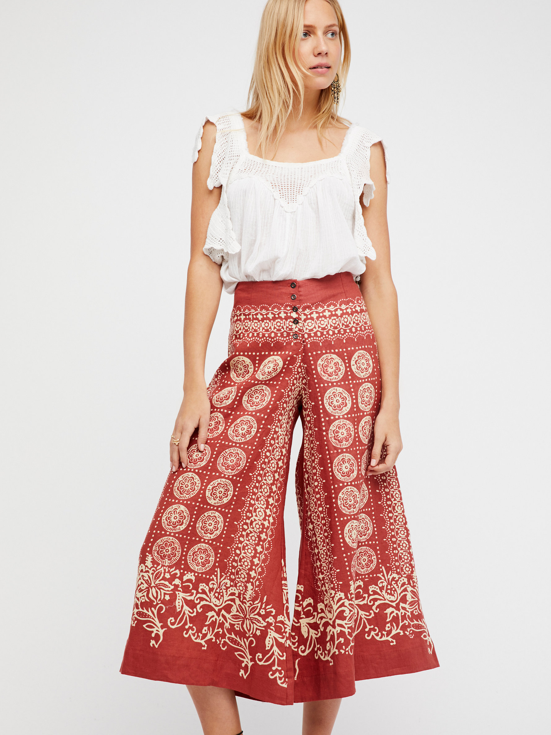 Wide Leg Pants, Flare Pants & High Waisted Pants   Free People