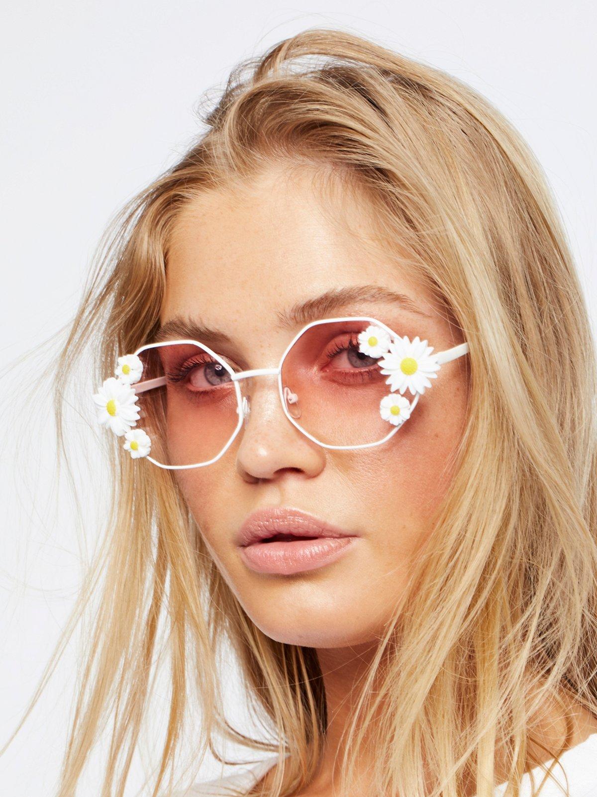 Ditsy Daisy Sunglasses