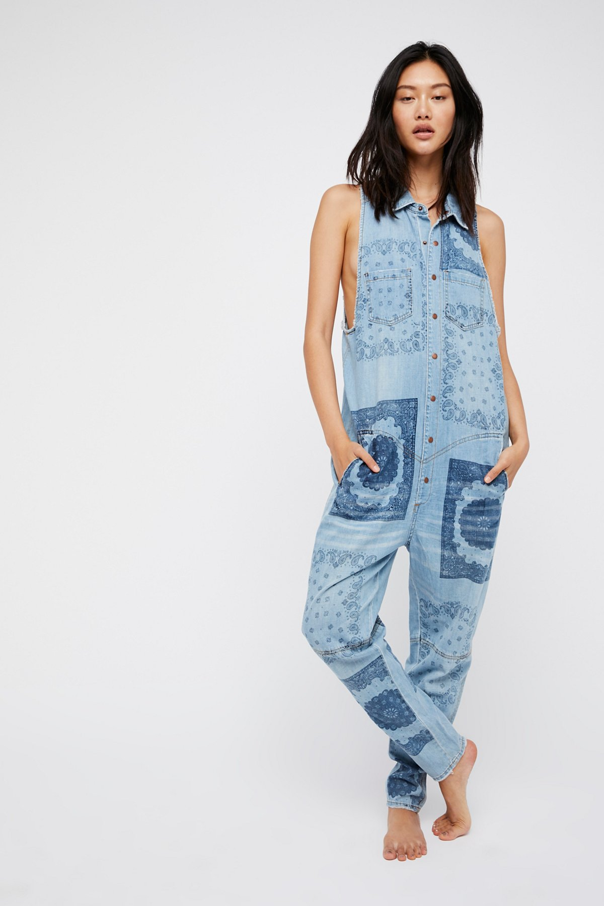 Off Beat Braxton Utility One-Piece