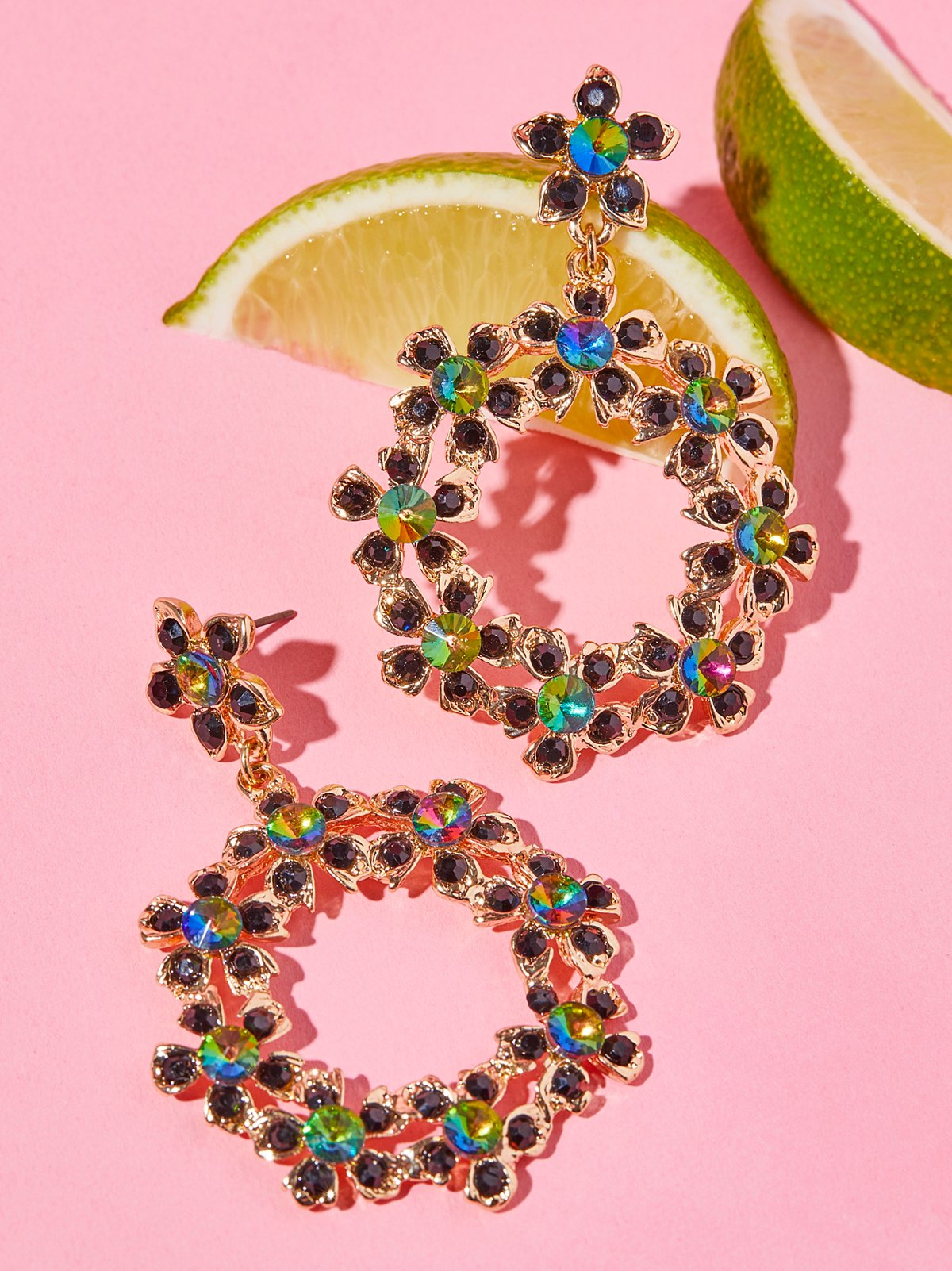 Rock and Rose Hoops