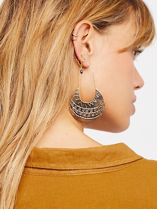 Product Image: Desert Moon穿耳式圆圈耳环