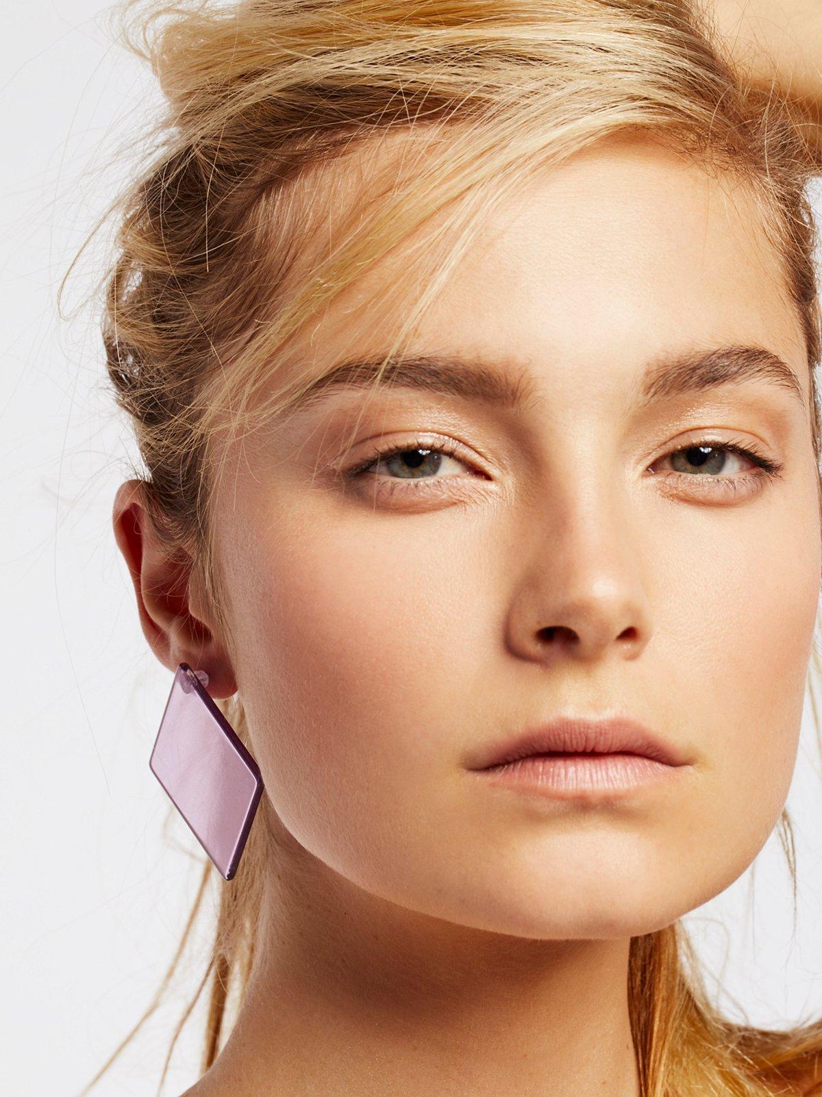 Lucite Mega Earrings