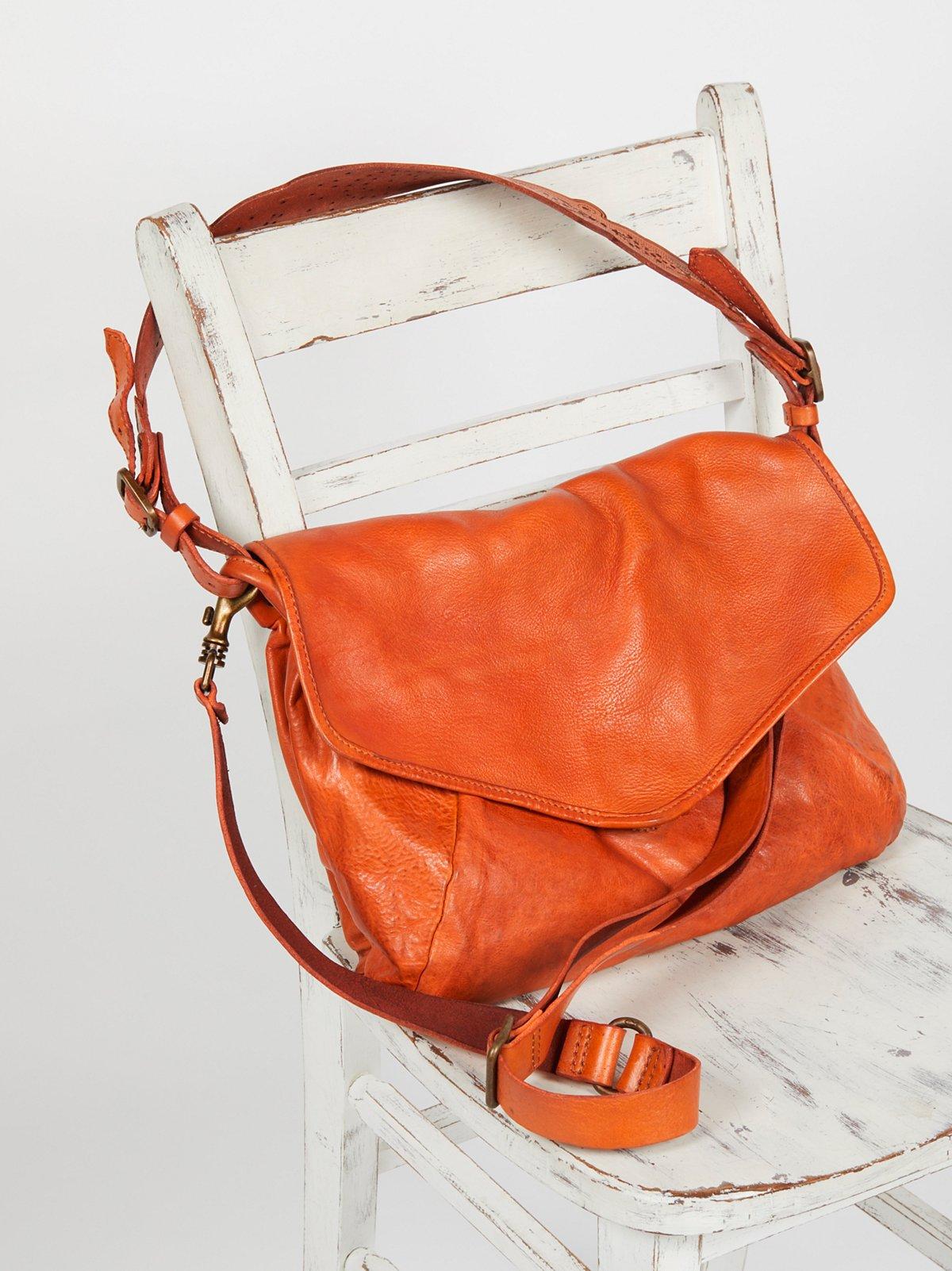 Amalfi Leather Satchel