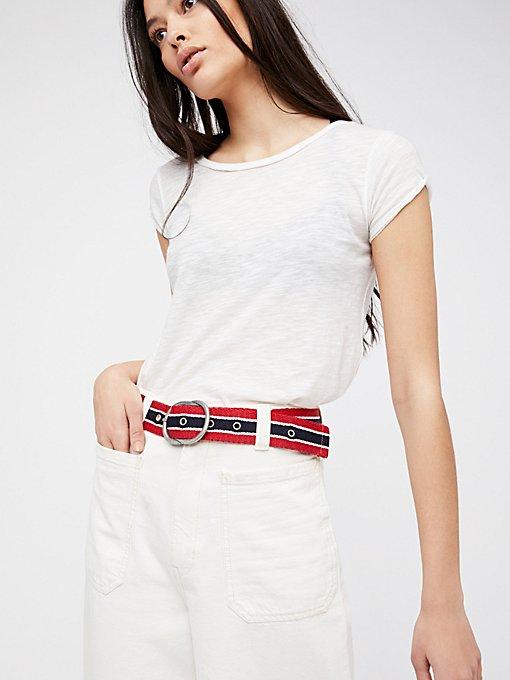 Product Image: Venice Beach织带腰带
