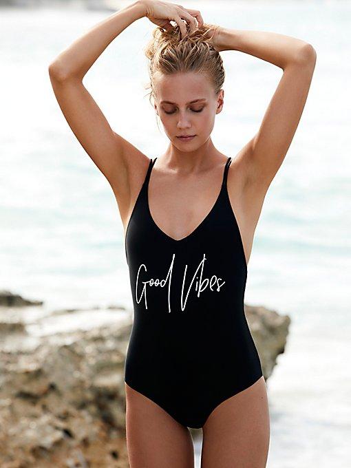 Product Image: Vibin'连体泳衣