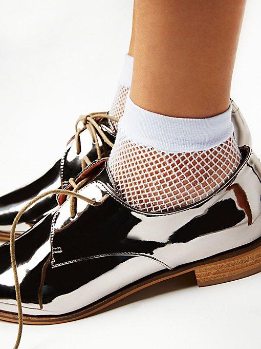 Product Image: Heartbreaker网眼踝袜