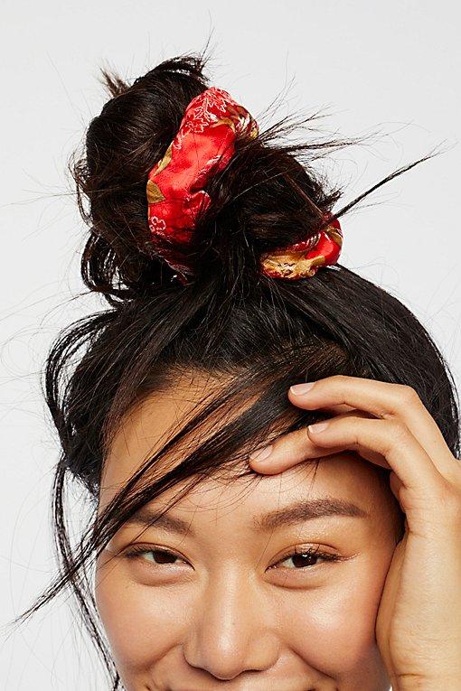 Product Image: Silk Brocade Scrunchie