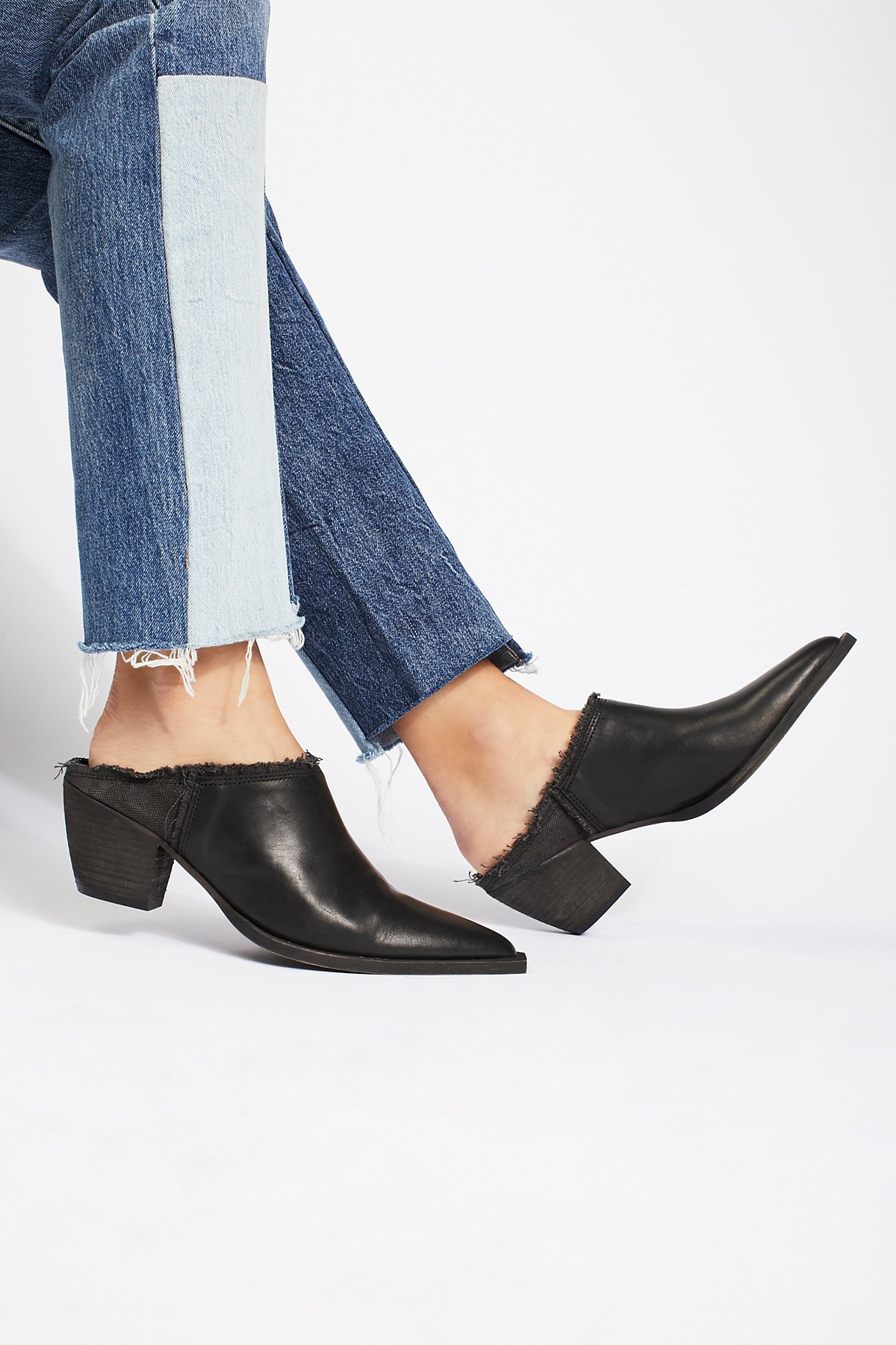 Leather Wild Things Mule