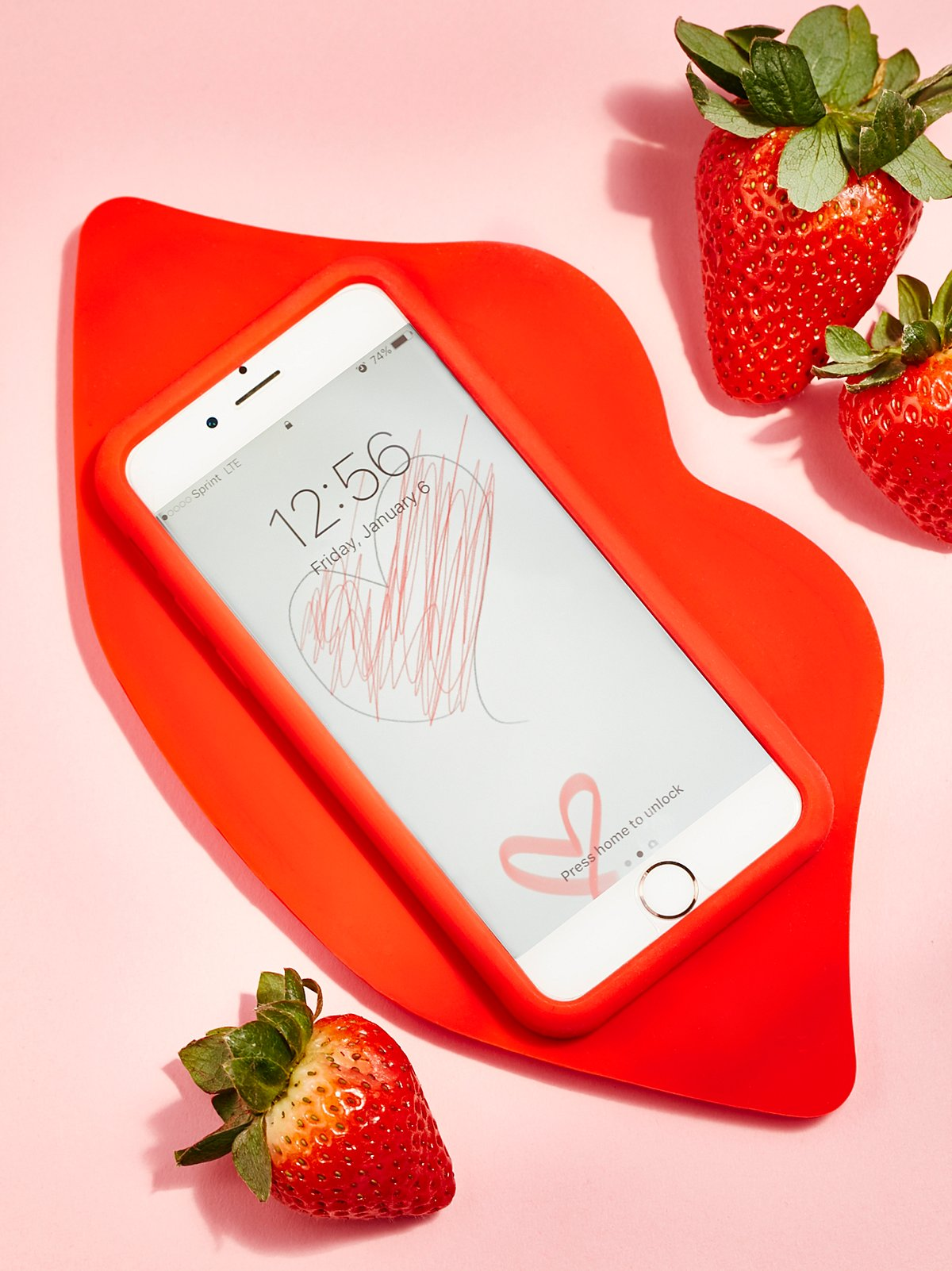 Lips iPhone Case
