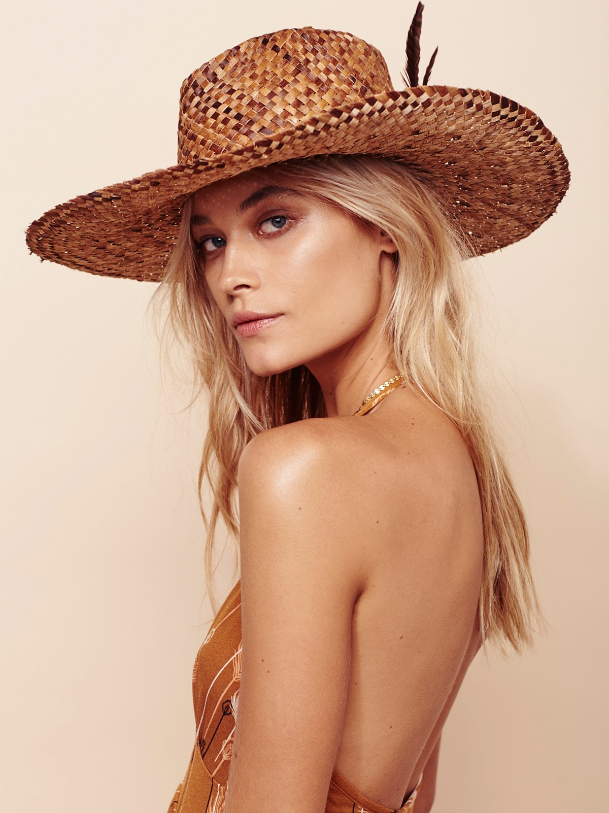 Fallon Straw Hat