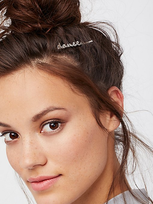 Product Image: Word Bobby Pins