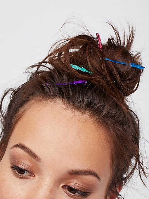 Product Image: Lightning Bolt Bobby Pins