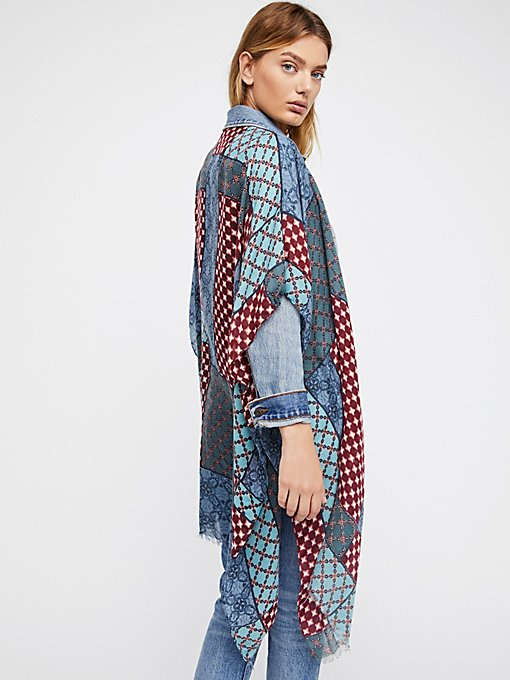 Product Image: Voodoo Child Patchwork Kimono