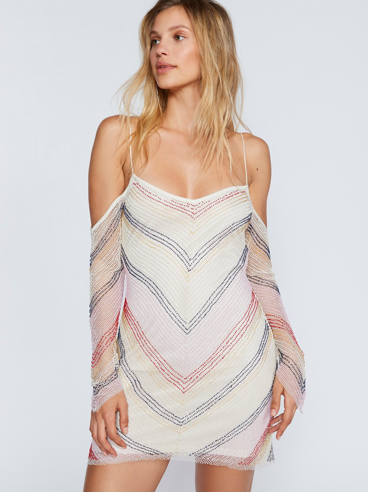 Draw The Line Beaded Dress
