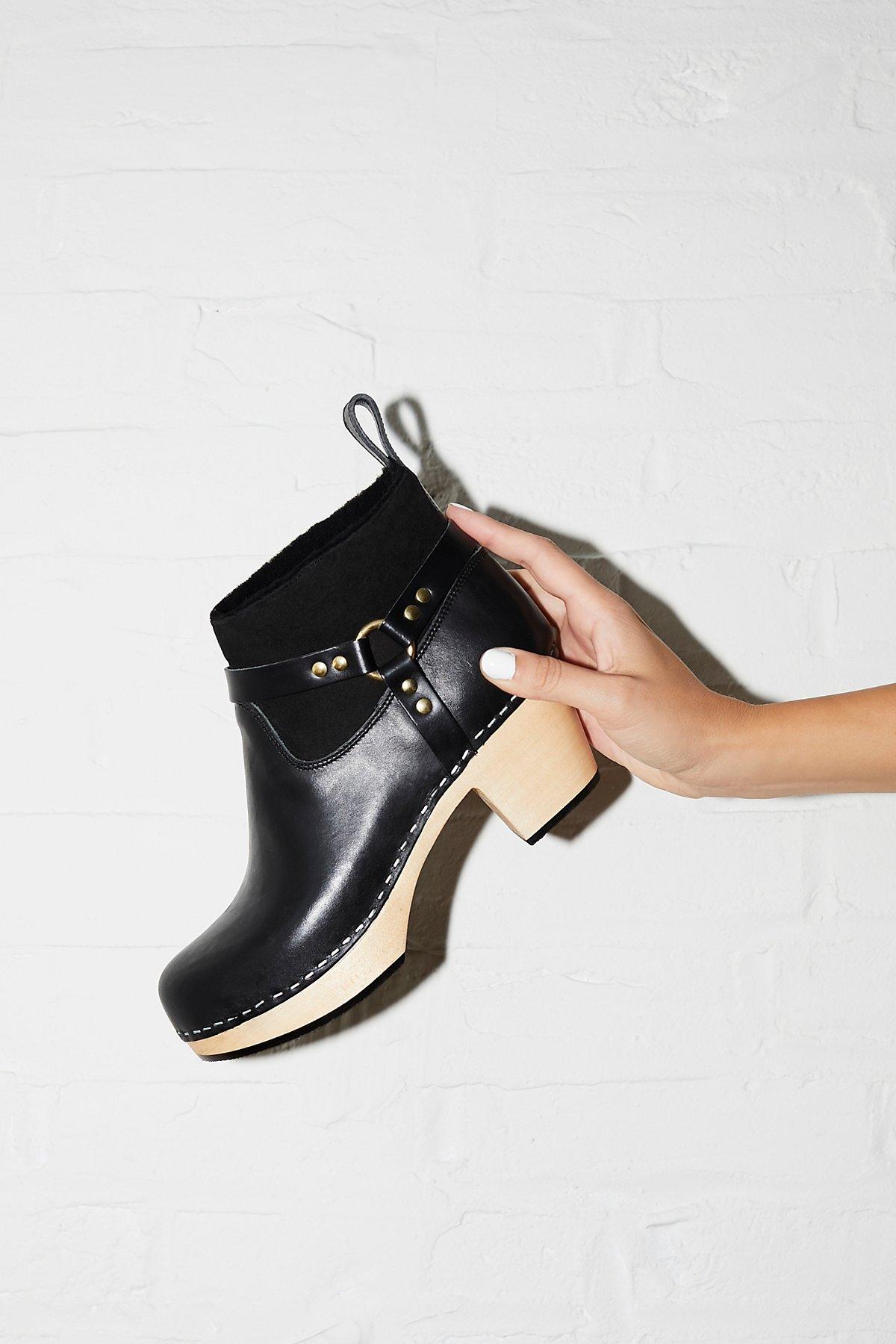 Rivet Clog Boot