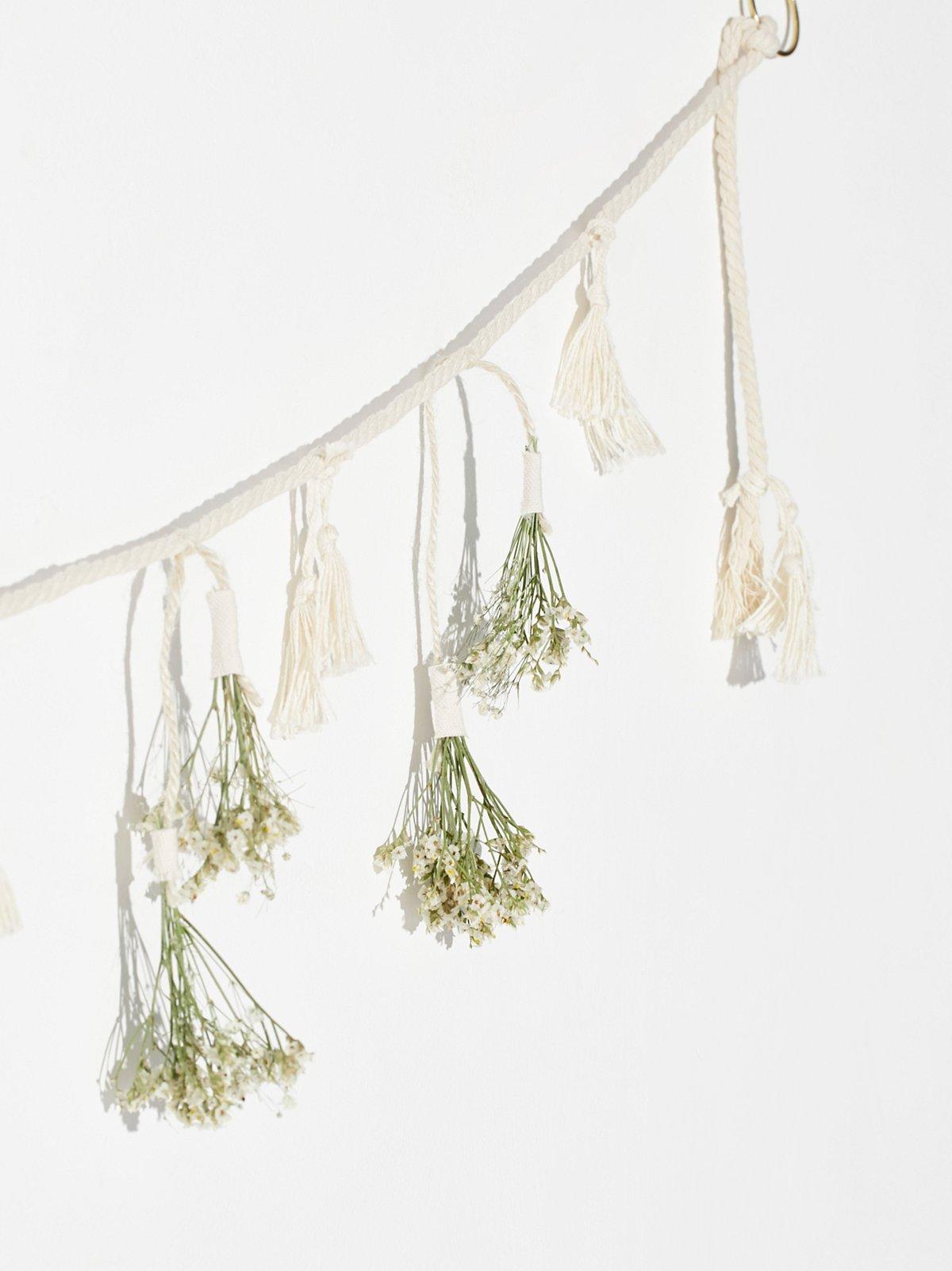 Hanging Floral Garland