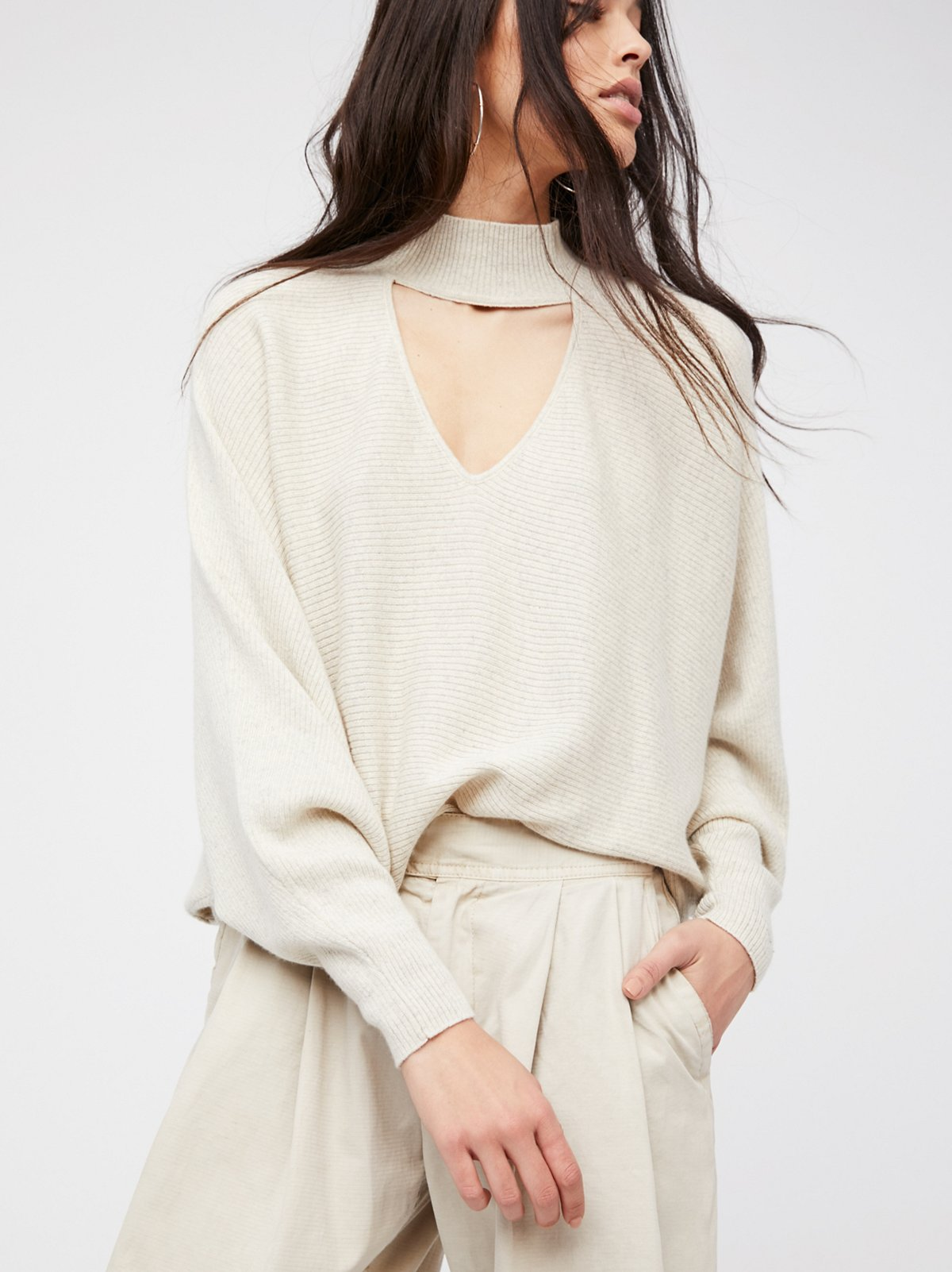 Key To Heart Cashmere Sweater