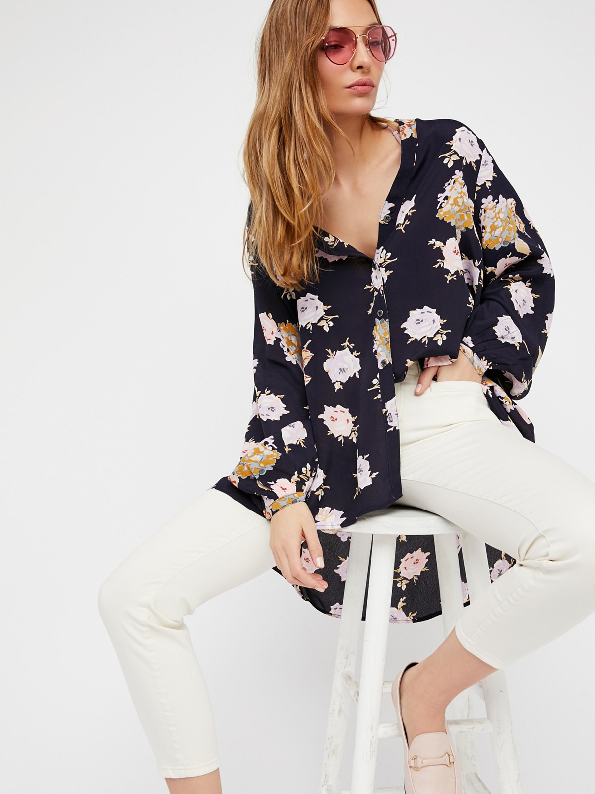 Julia Printed Blouse