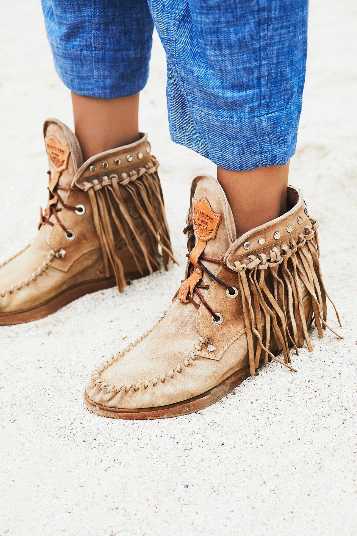 Roseland莫卡辛靴
