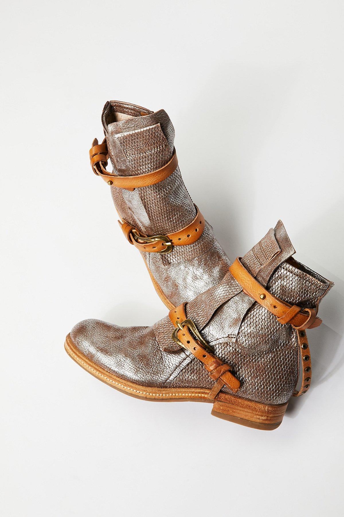 Encore踝靴