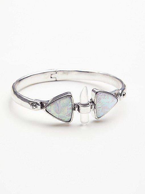 Product Image: Peyton Opal Locking Bangle