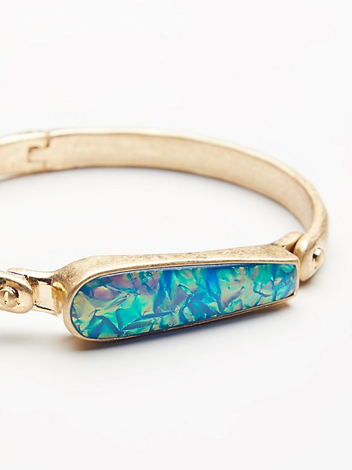 Product Image: Peyton Opal Locking Bangle
