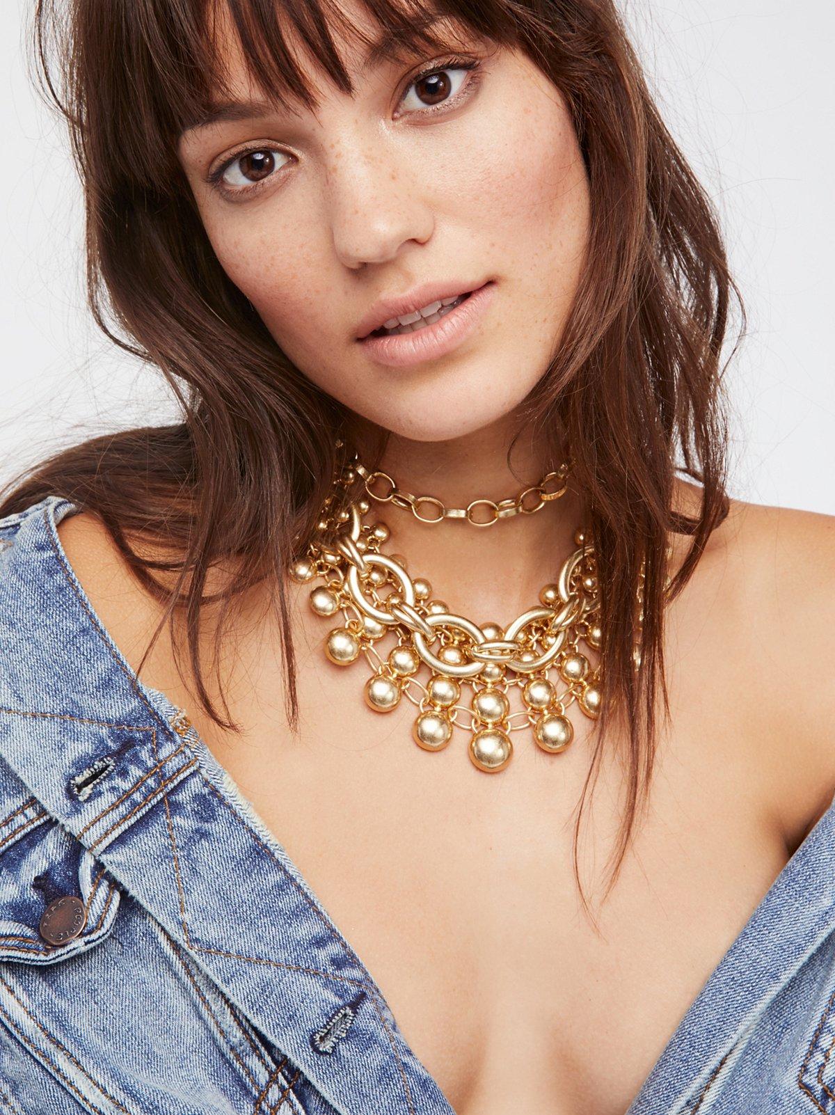 Sunshine & Silver Collar