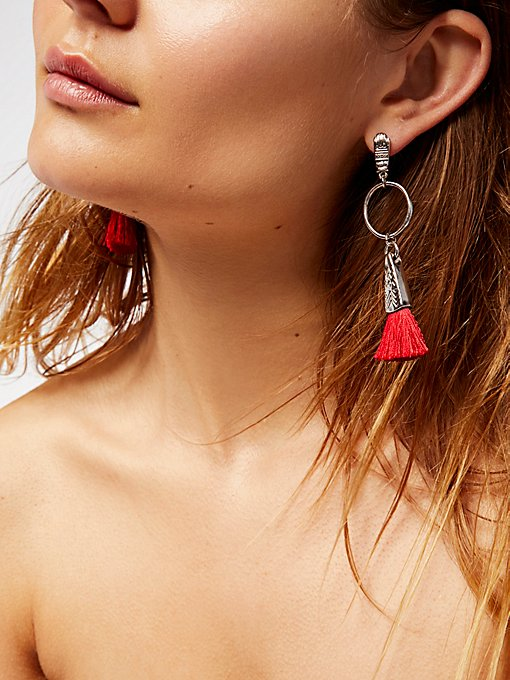 Product Image: Hand To Hold Tassel Earrings