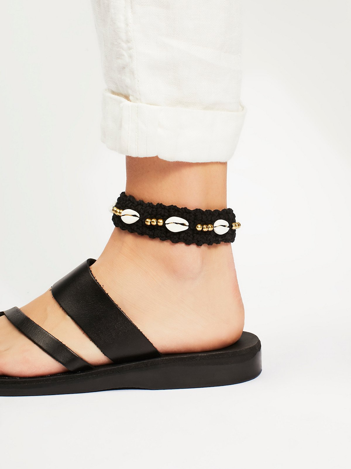 Neon Shells Anklet