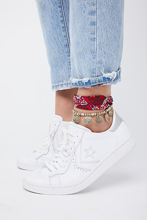 Product Image: Tapestry Coin Anklet Set