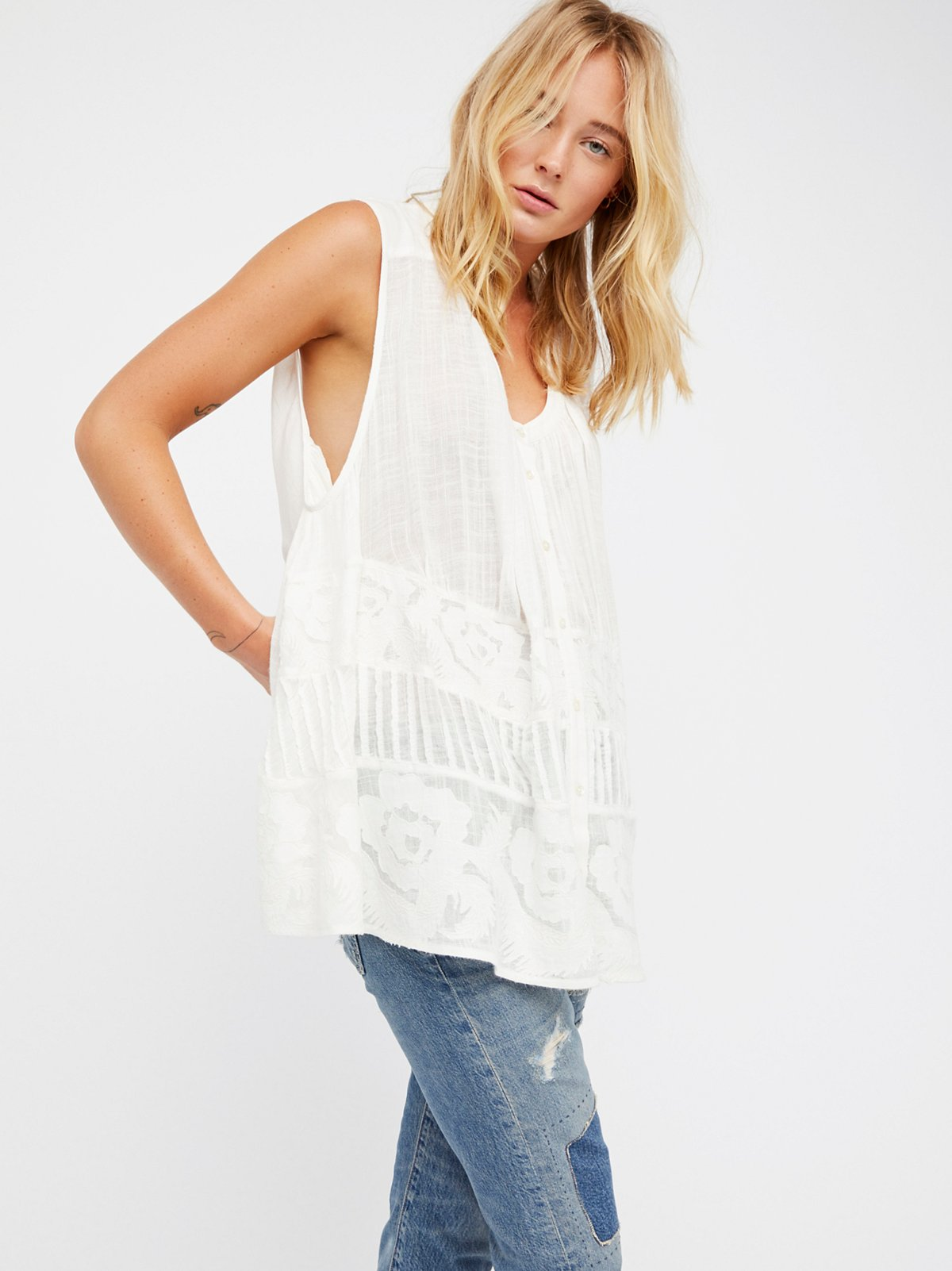 Lemonade Sleeveless Tunic