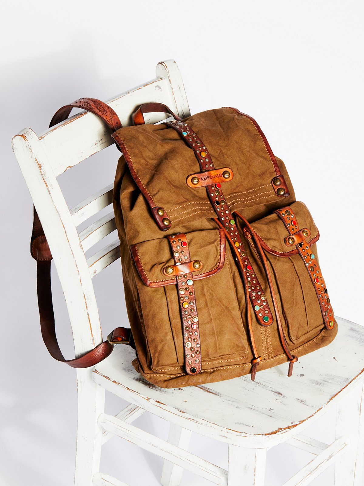 Napoli Distressed Backpack