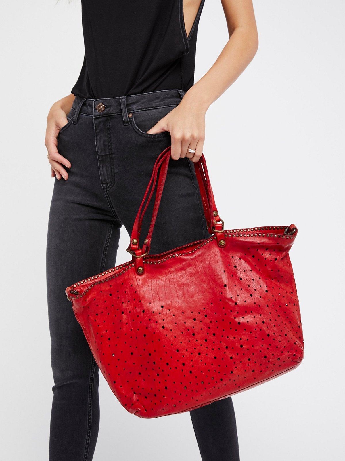 Bari Leather Tote