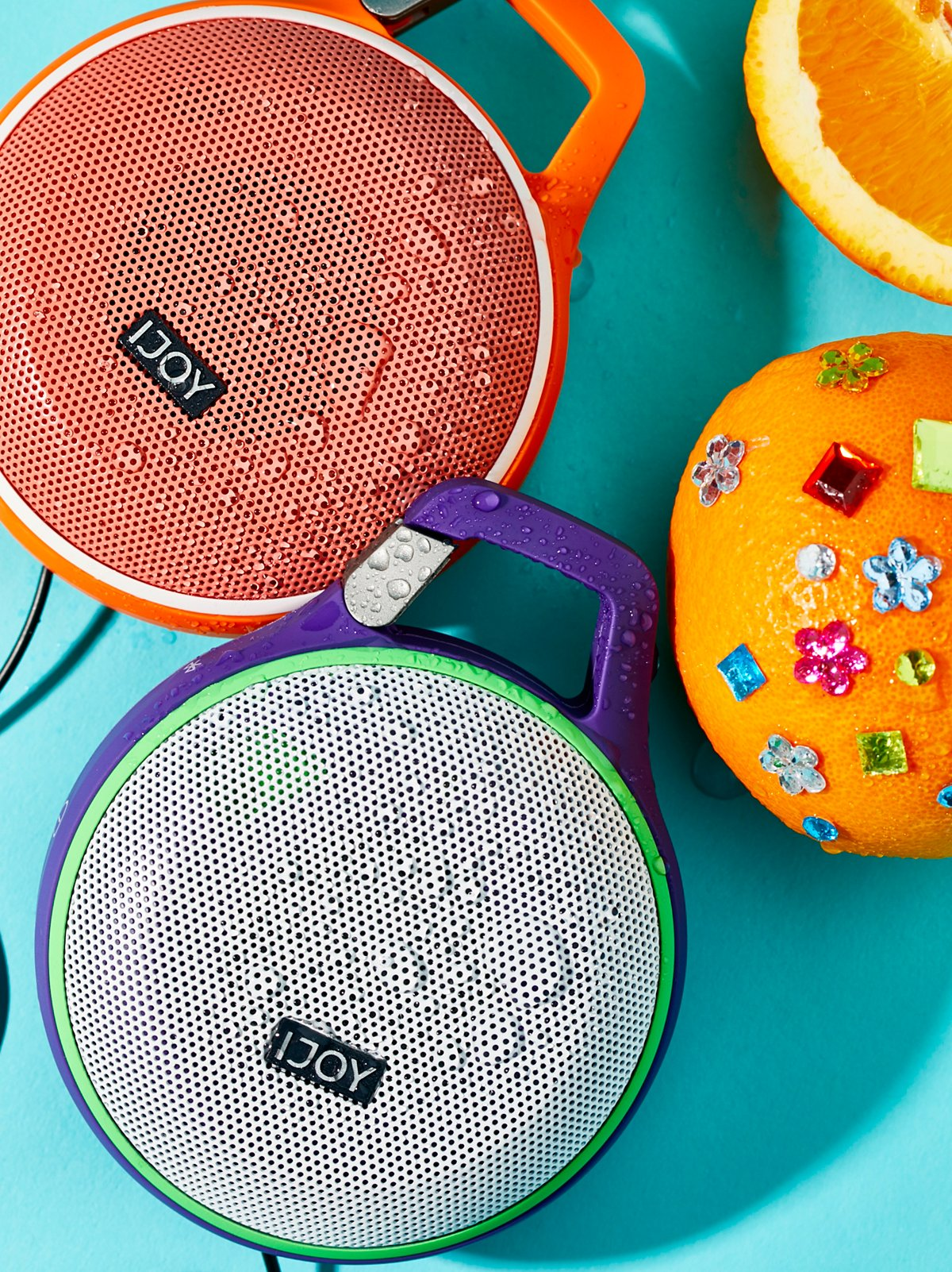 Sound Clip Splash Proof Portable Speaker