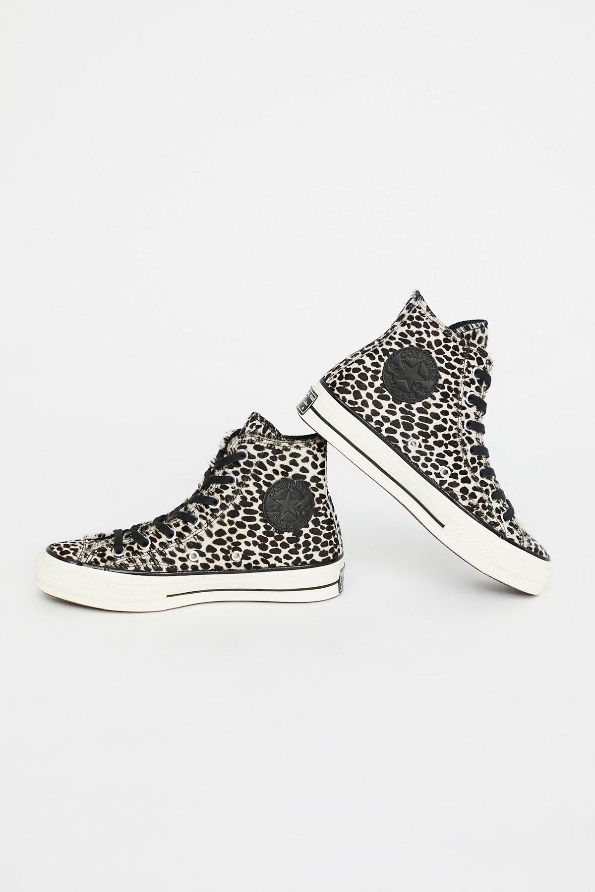 Leopard High Top Sneaker