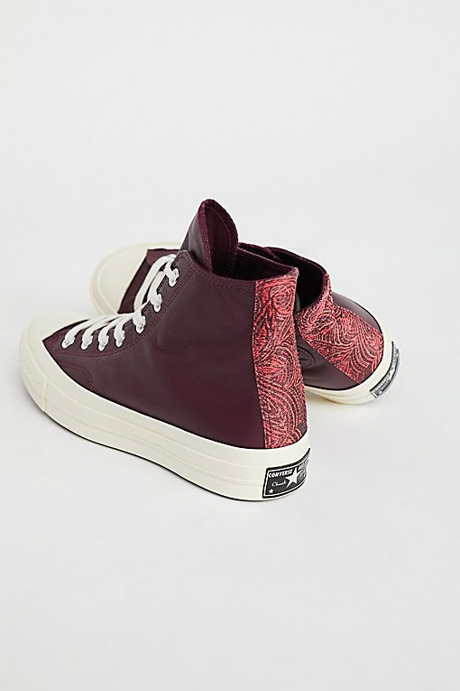 Product Image: Premium Leather High Top Sneakers