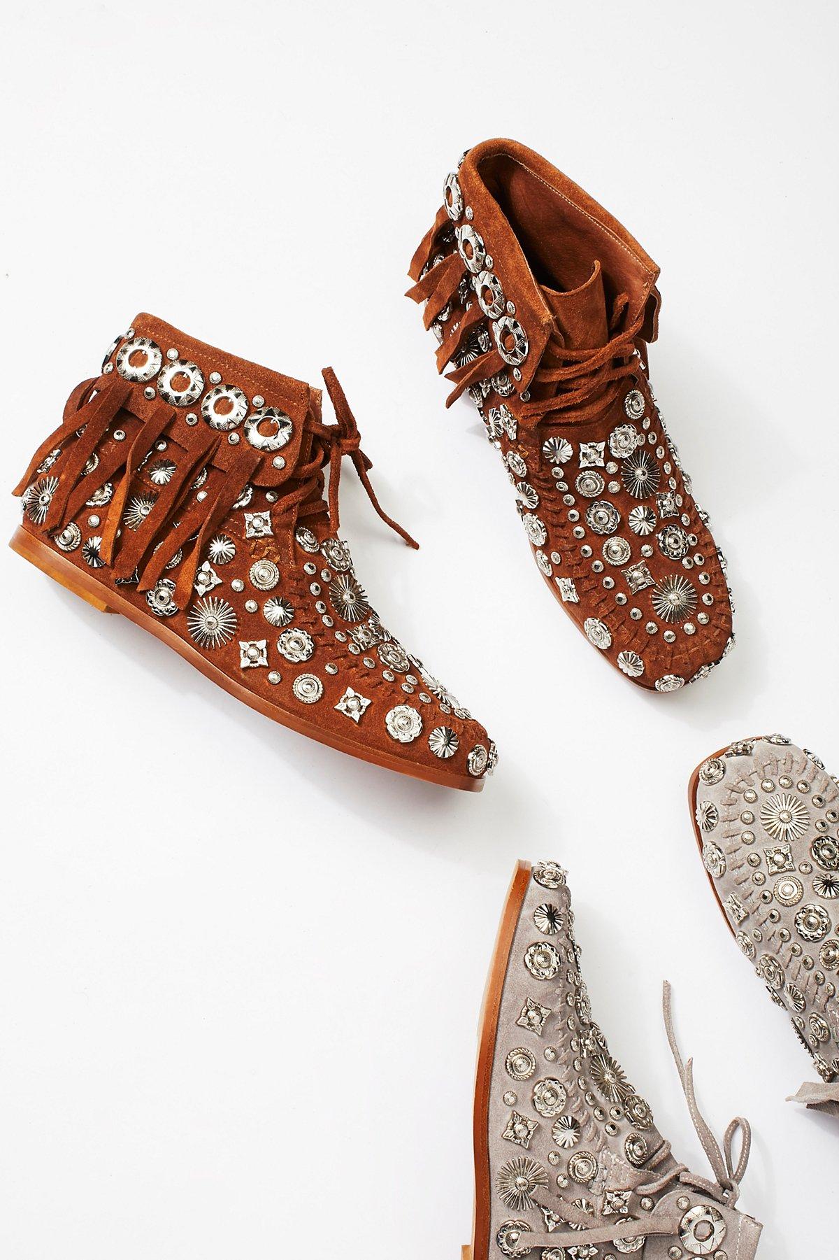 Gobi Desert莫卡辛靴子