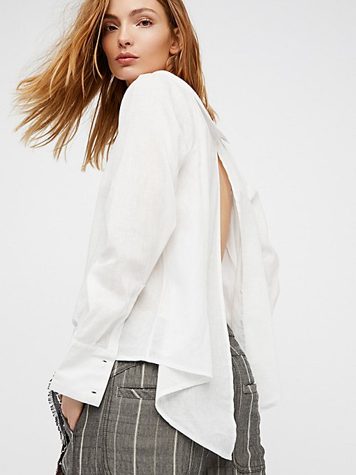 Product Image: Cool Like Courtney Linen Buttondown