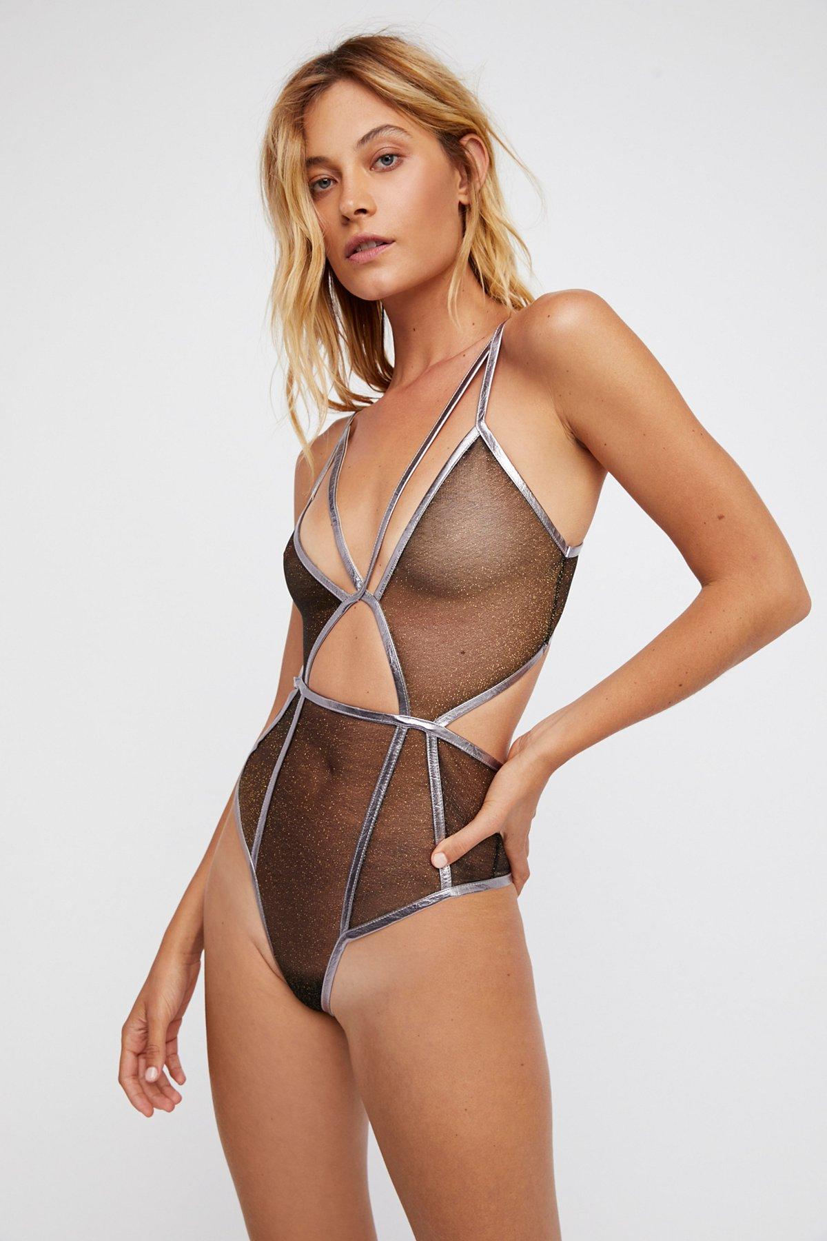 Vega Glitter Bodysuit