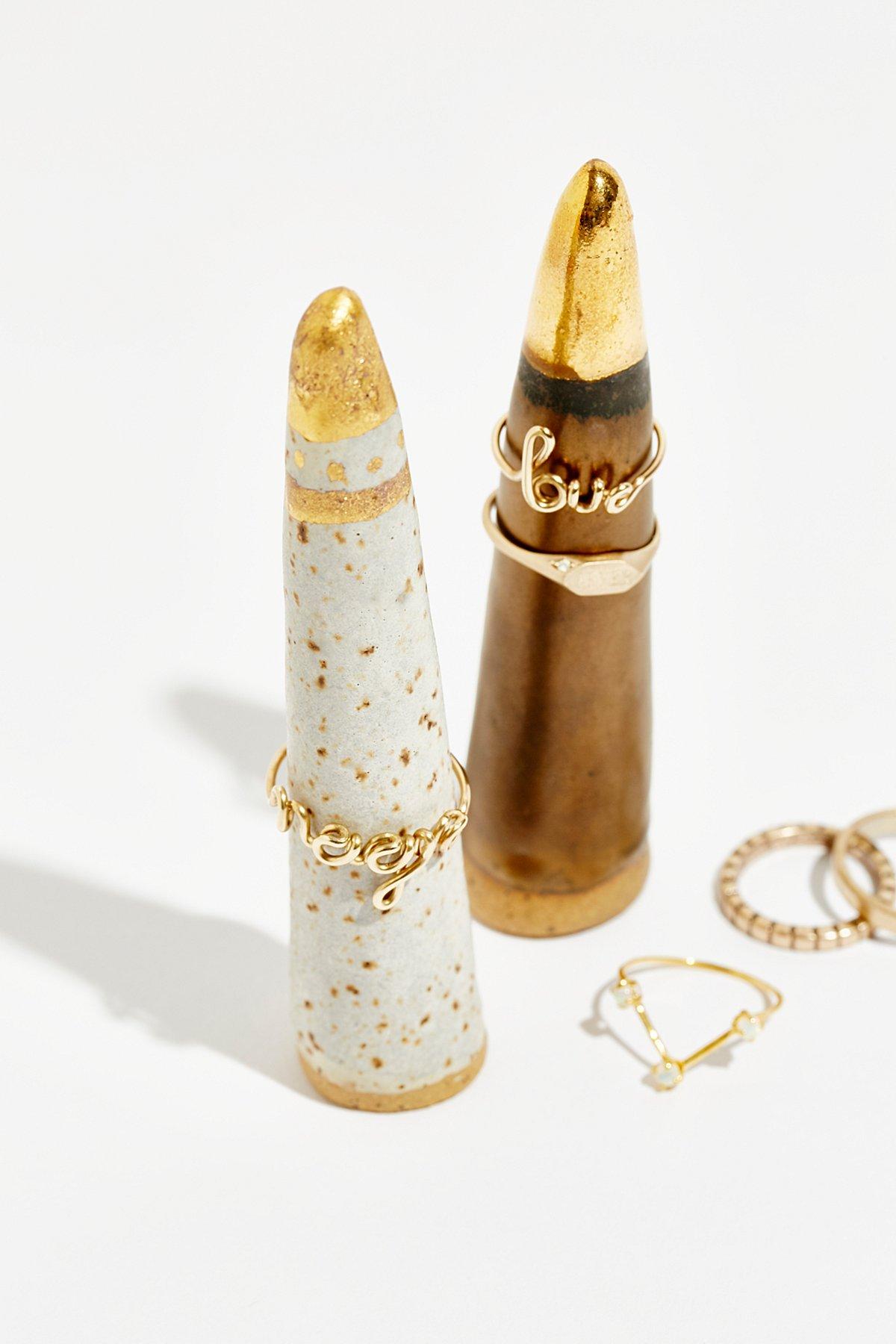 陶瓷戒指架