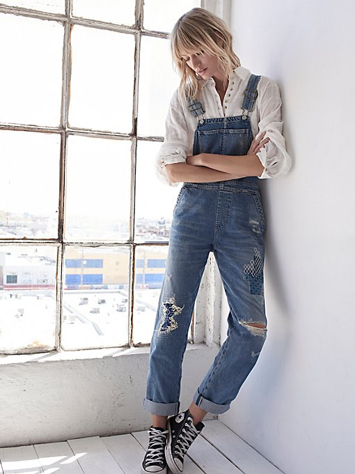 Product Image: Quincey Denim Dungarees