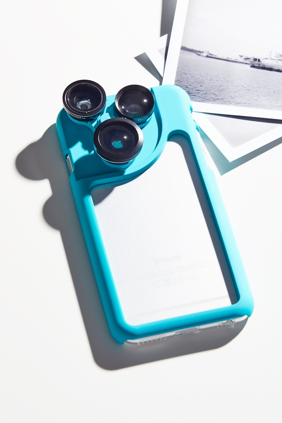 Changing Lens iPhone Case