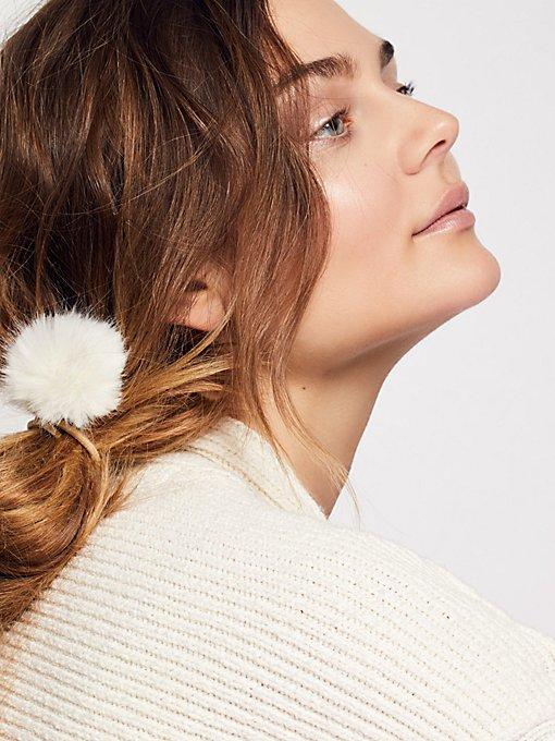 Product Image: Faux Fur Pom Pick