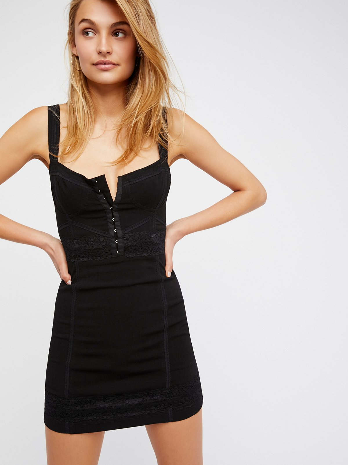 Lace Me Up Bodycon