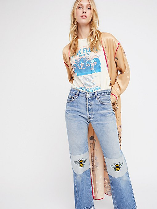 Product Image: Bee's Knees Embroidered Jean