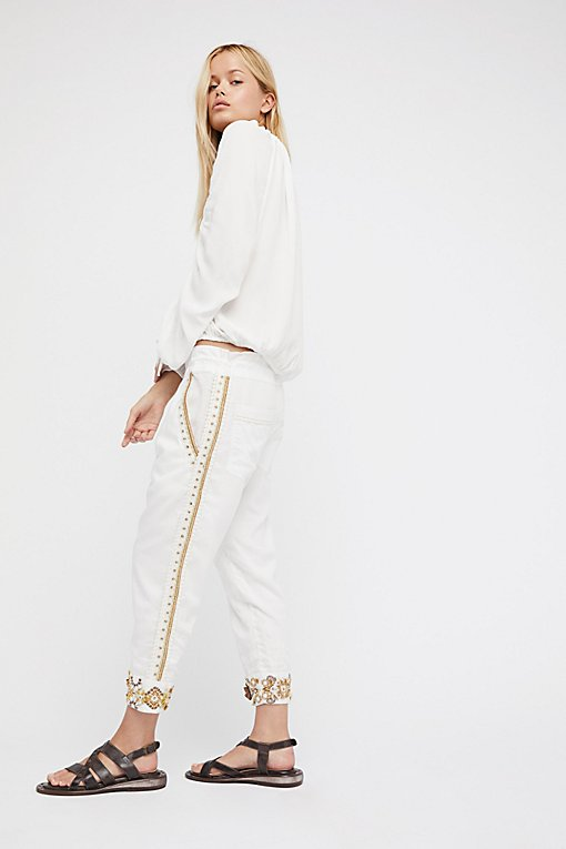 Product Image: Embroidered Louise Hareem Trouser