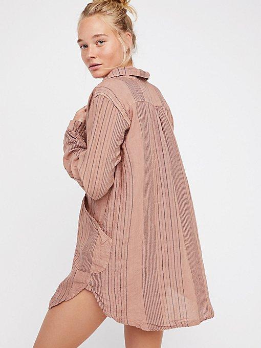 Product Image: Teton条纹裙衫