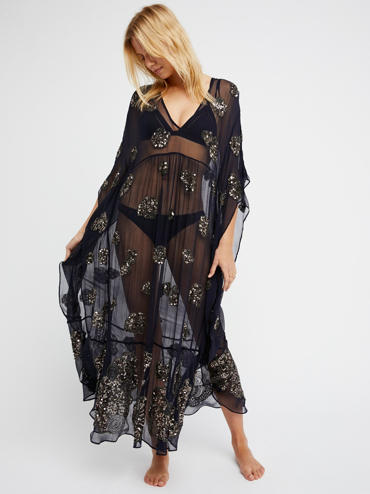 Sequins For Days Maxi Dress
