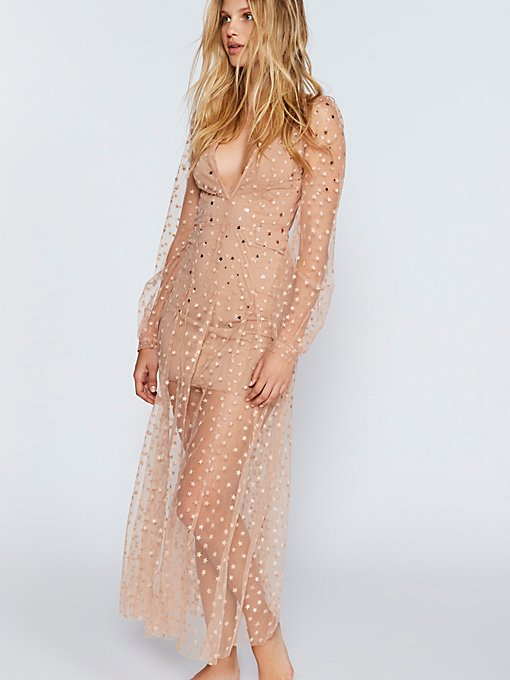 Product Image: All That Glitters Tulle Maxi Dress